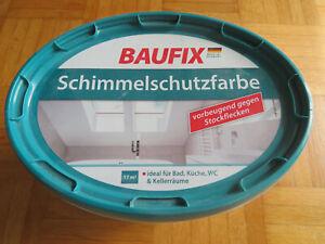 Baufix Schimmelschutzfarbe 2,5 L für ca. 17 m/2