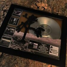 U2 The Joshua Tree Bono Platinum Record Album Disc Music Award MTV Grammy RIAA