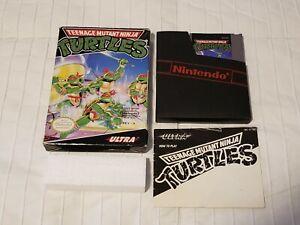 Teenage Mutant Ninja Turtles (Nintendo NES) Complete CiB - Cleaned & Tested