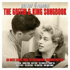 HALFWAY TO PARADISE - THE GOFFIN & KING SONGBOOK  - VARIOUS ARTISTS (NEW 3CD)