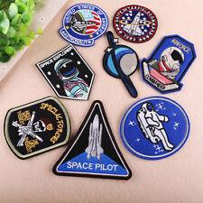 Astronauta EspacialHierro En / De Coser Parche Bordado Insignia Tela DIY