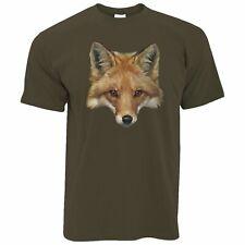 Arte Animal Camiseta bajo Poly Fox Gráfico Vida Silvestre Predator City Sly Lindo