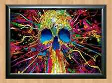 PSYCHEDELIC Trippy Funky Mushrooms Audio Video Visulization A4 Photo Print 19