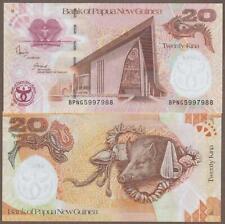 KM#36.A 2008 PAPUA NEW GUINEA 20 KINA NOTE UNC