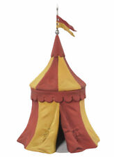 Black Hawk Tournament Medieval Knights Tent RED & GOLD 1/32 Figure BH0914RY MIB