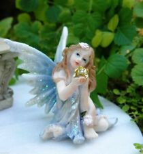 4Pcs Fairy Garden Fairies Accessories Miniature Fairies Figurines Elf Garden Gno