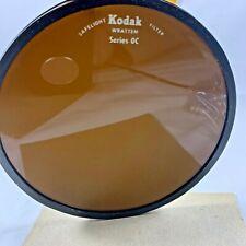 """Kodak Safelight Filter 5 1/2"""" Round Filter Wratten Series Oc Dark Room"""