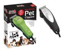 10pcs Professional Pet Dog Clippers Kit Toelettatura Animali PER CANI TOSATRICE TOELETTA KIT