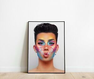 James Charles Beauty Print Poster