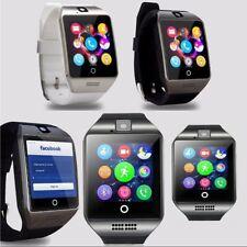 Armbanduhr Bluetooth Smartwatch Mit SIM + Kamera Handyuhr Für Android iPhone Q18