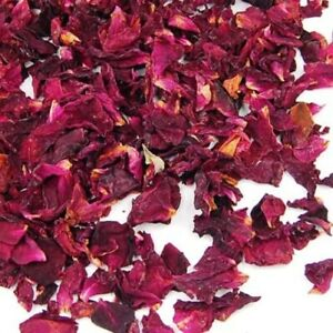 50g Bag of Dried Rose Petals Flowers Natural Scent and Nothing Added by Cloe ...