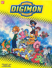 DIGIMON DIGITAL MONSTERS SER. 1 BANDAI/UPPER DECK BOX TOPPER PROMOTIONAL POSTER