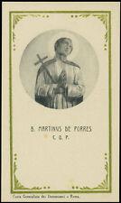 santino-holy card S.MARTINO DE PORRES