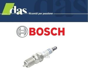 4 CANDELE ACCENSIONE VW GOLF VII (5G1, BE1) 1.4 TGI CNG 2013> BOSCH Y5KPP332