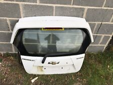 2014 Chevrolet Spark - BARE Rear Hatch / Tailgate WHITE COMPLETE