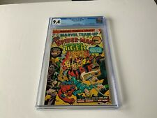 MARVEL TEAM UP 40 CGC 9.4 WHITE PAGES SPIDER-MAN SONS OF THE TIGER MARVEL COMICS