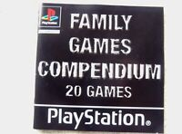 73921 Instruction Booklet - Family Games Compendium - Sony PS1 Playstation 1 (20
