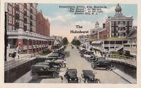 Postcard The Holmhurst Pennsylvania Avenue from Boardwalk Atlantic City NJ