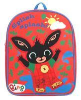 Cbeebies Bing Splish Splash Muddy Boys Junior Backpack School Bag Kids Childrens