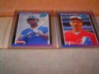 1989 Donruss Baseball Complete Set (660) Griffey Jr. and R. Johnson RC
