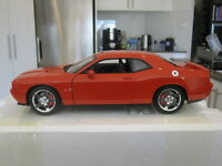 1/18 ACME A1806006 2010 DODGE CHALLENGER R/T ORANGE *NEW* 1 OF 250!!!