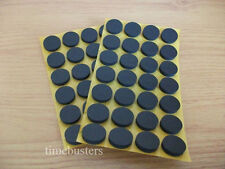 50 Black Self Adhesive Sticky CD/DVD/Blu Ray Disc Foam Holders/Dots/Studs/Pads