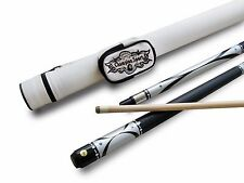 Champion Silver Pool Cue Stick, White Case, Champion or Cuetec Billiards Glove