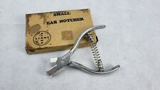 Stone Small Ear Notcher No. 1 V Notch Small Precision Leather Working Tool