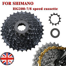 For Shimano Altus CS-HG200-7/8 Speed Mountain Bike Bicycle Cassette 12-28T/32T