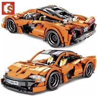 Mclaren P1 708 Piece Lego Technic Style Sports Car Building Blocks Bricks