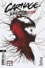 CARNAGE BLACK WHITE AND BLOOD #1 GLEASON WEBHEAD 2ND PRINT VARIANT (05/05/2021)