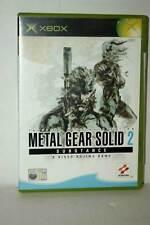 METAL GEAR SOLID 2 SUBSTANCE USATO BUONO XBOX EDIZIONE ITALIANA PAL AT3 43434