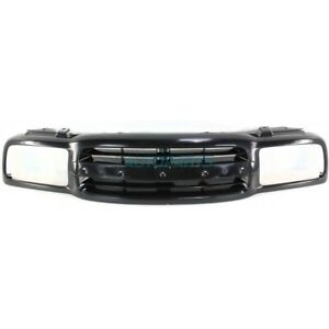 NEW 1999-2004 FITS CHEVROLET TRACKER FRONT BLACK GRILLE GM1200434