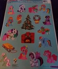 My Little Pony Christmas window clings
