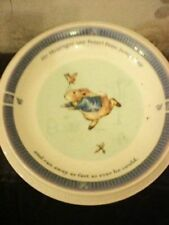 Porcelain/China Saucer Peter Rabbit Wedgwood Porcelain & China