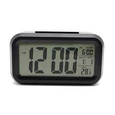 New LCD Display Digital Date Time Alarm Snooze Clock LED Light Temperature ℃/℉