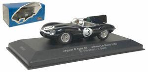 IXO LM1957 Jaguar D Type Ecurie Ecosse Le Mans Winner 1957 - Flockhart/Bueb 1/43
