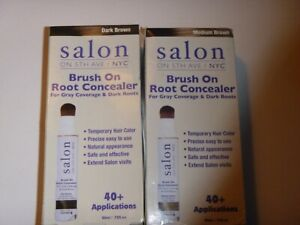 Salon On 5th Ave Brush On Root Concealer- You choose your shade!