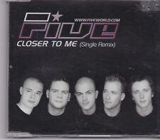 Five-Closer To Me promo cd single