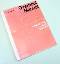 Continental L-Head F162 F163 Engine Motor Service Repair Owners Operators Manual