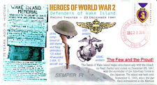 COVERSCAPE computer designed 75th WWII Wake Island Heroes event cover