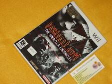 RESIDENT EVIL UMBRELLA CHRONICLES Nintendo Wii NUOVO SIGILLATO vers. uff. ITALIA