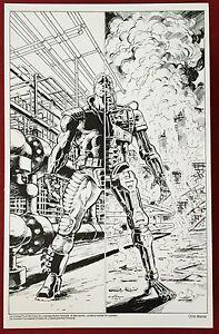 Terminator - 11x17 B&W Collector Print By Chris Warner #1 - Dark Horse Comics