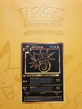 Pokemon Base 1st Seadra Gold LUXURY CARD custom card Christmas gift