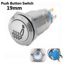 12V 5Pin Universal Metal Latching Push Button Car Heated Seat Heater Pad Switch