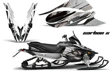 YAMAHA APEX GRAPHIC KIT AMR RACING SNOWMOBILE SLED WRAP DECAL 12-13 CARBON BLACK
