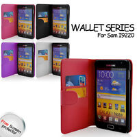 Wallet Leather Case for Samsung Galaxy Note GT-N7000 / i9220 with Card holder