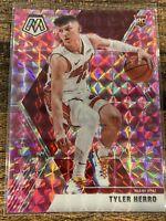 Tyler Herro Panini Mosaic Pink Camo Prizm #223 RC Miami Heat Rookie Card