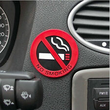 Auto Car Rubber Stickers No Smoking Warning Logo Car Taxi Decal Stickers 1Pc