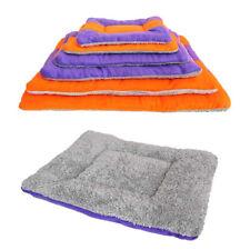 Fluffy Soft Pet Blanket Rug Dog Cat Sleeping Bed Warm Mat Cushion Washable Large